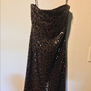 Dior tube dress